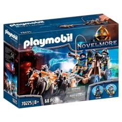 Playmobil Ulveriddernes vandkanon