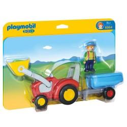 Plymobil landmand med traktor