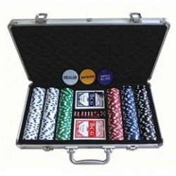 Pokersæt i kuffert