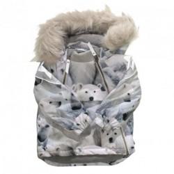 Polar Bear Hopla Fur 5W18M306 - Jackets fra MOLO