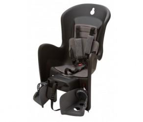 Polisport Bilby CFS - Cykelstol - Bagagebærermontering - Sort/grå