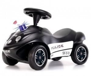 Politi Gåbil med Blåt blink og horn