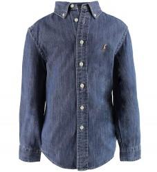 Polo Ralph Lauren Skjorte - Denim - Blå