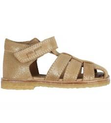 Pom Pom Sandaler - Gold Glitter