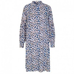 POOL BLUE COMBI LEOPARD LR-EMEL 1 dress - 100157 fra Levete Room