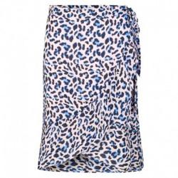POOL BLUE COMBI LEOPARD LR-EMEL 4 skirt - 100237 fra Levete Room -