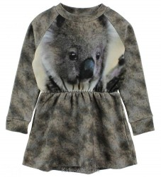 Popupshop Kjole - Sweat - Koala