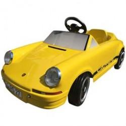 Porsche pedalbil - Carrera RS 2,7 - Gul