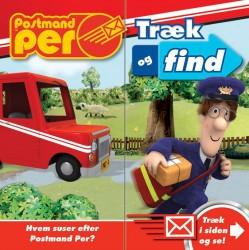 Postmand Per - Træk og find bog