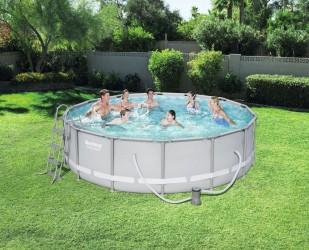 Power Steel pool 13.030L 427x107 cm
