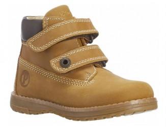 Primigi 80601/77 ørkenstøvle med velcro, camel / sennep