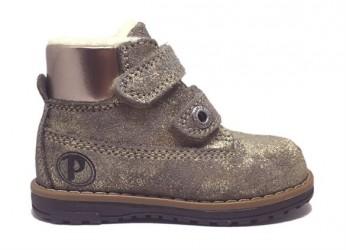 Primigi 80609 ørkenstøvle med velcro, antik guld