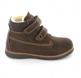 Primigi Aspy ørkenstøvle med velcro, mørkebrun