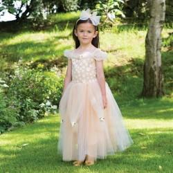 Prinsesse kostume Golden Princess str. 3 - 11 år Travis Designs