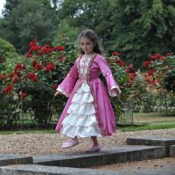 Prinsesse kostume Marie Antoinette str. 3 - 11 år Travis Designs