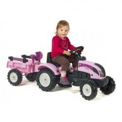 Prinsesse Traktor med Anhænger