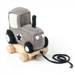 Pull along traktor
