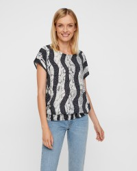 PULZ Snake Wing bluse