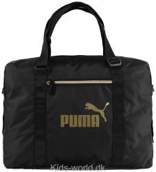 Puma Sportstaske - Core Seasonal - Sort/Guld