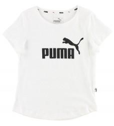 Puma T-shirt - Hvid m. Logo