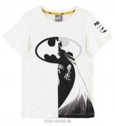 Puma T-shirt - Justice League - Hvid m. Batman