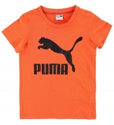 Puma T-shirt - Orange m. Logo