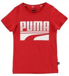 Puma T-shirt - Rebel - Rød m. Logo