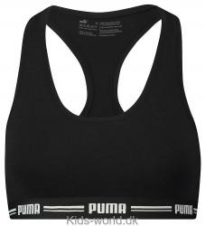 Puma Undertop - Racer Back - Sort