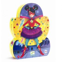 Puslespil 36 brikker Superhelt Supergirl fra Djeco