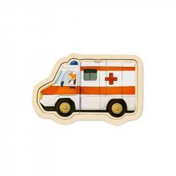 Puslespil, ambulance