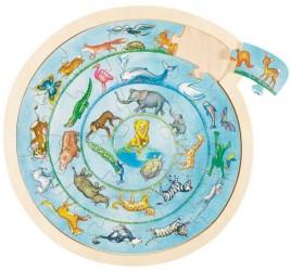 Puslespil fra Goki - Circle of Life