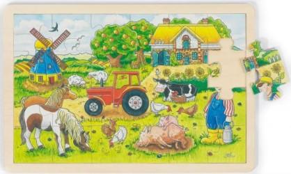 Puslespil fra Goki - Mr. Millers Farm (3+)