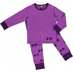 Pyjamas fra CelaVi - Lilla m. ugler