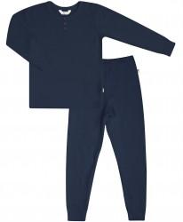 Pyjamas fra Joha - Bambus - Mørkeblå