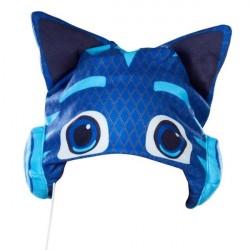 Pyjamasheltene hue med hovedtelefoner til børn
