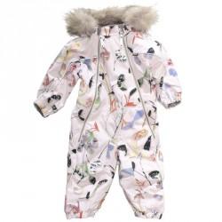 Pyxis Fur Paper Petals - MOLO 5W17N103 Baby Snowsuits