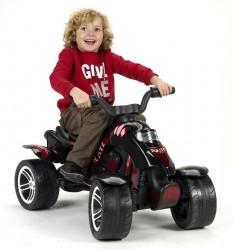 Quad Pirate ATV m/pedaler, Sort