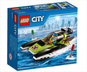 Racerbåd - 60114 - LEGO City