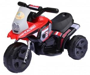 Racing Sport EL Motorcykel til børn, Rød