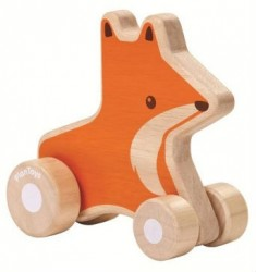 Ræve wheelie fra PlanToys