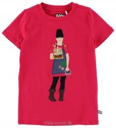 Ramasjang Kluns T-shirt - Rosa - Rød