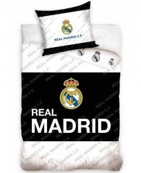 Real Madrid 2i1 Sengetøj - 100 Pocent Bomuld