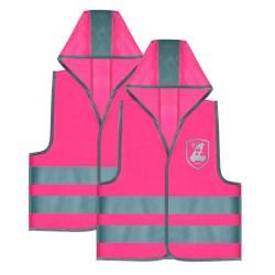 Reer sikkerhedsveste til børn - MyBuddyGuard - Pink - 2 stk.