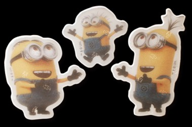 Refleks stickers fra Softreflector - Laughing Minions