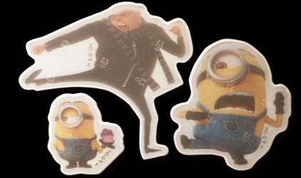 Refleks stickers fra Softreflector - Minions og Gru