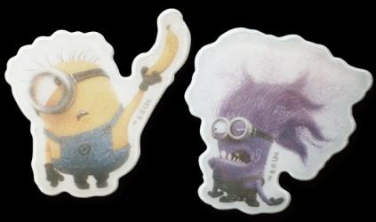 Refleks stickers fra Softreflector - Stuart og Evil Minion