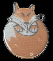 Refleksbrik - 3M - fra Softreflector - Fox