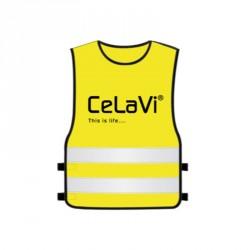 Refleksvest fra CeLaVi - Neon gul
