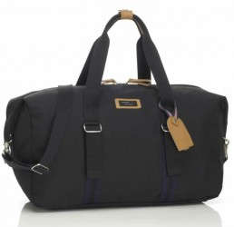 Rejsetaske m. garderobe - Storksak Travel Duffle - Black