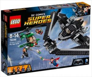 Retfærdighedens helte: Luftkamp - 76046 - LEGO Super Heroes